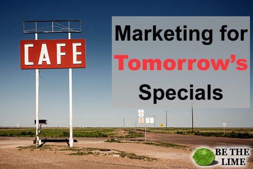 Tomorrow's Specials